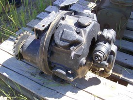 Used Gardner Denver Piston Air Motor. 5 Cylinder. C/W Reduction Drive.