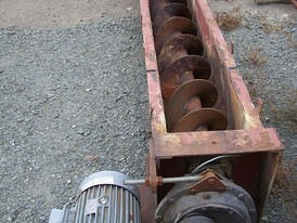 12 in. x 15 ft. Trough Style Auger for Sale