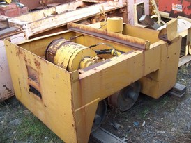 Used Atlas Battery Locomotive. 24 in. Gauge. 80 Volt DC Motor & Battery Box.