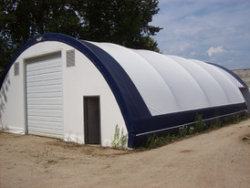 40 ft. x 60 ft. Coverall Building. Comes with New Tarp.