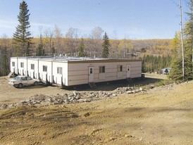 5 Unit, 10 Bunk Room All Season Camp. Commercial Kitchen, Dining, Wash/Shower, and Rec Room.