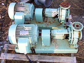 Used Taco Centrifugal Pump. 2 in. x 1-1/4 in. Model: FM 1208 - 7.4