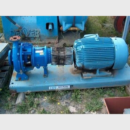 Allis chalmer centrifugal pump for 50 hp dc motor