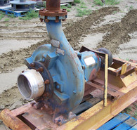 Used Allis-Chalmers Centrifugal Pump. 8 in. x 4 in. x 17 in. Model: PWO