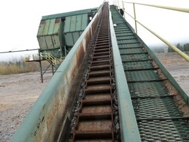 130 ft. Long Sawmill Chip Conveyor