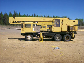 Pettibone 15 Ton 80 FT Crane with Jib.