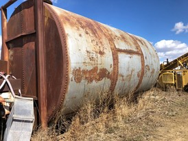 14,000 Gallon Steel Tank