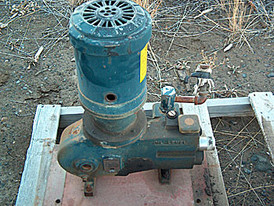 Used M Roy Metering Diaphragm Pump. Model FR160-144.