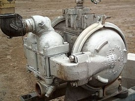 Used Sandpiper Diaphragm Pump. Model SB1.5-A Type SC-4-SS