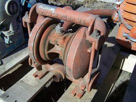 Used Wilden Diaphragm Pump. 1 in. x 1.5 in. Model M-2.