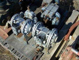 Used Sandpiper Diaphragm Pump. 1 in. Model: SB1-A  Type: SGN-2-A
