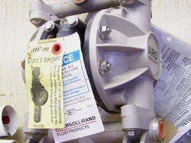 New Ingersoll-Rand Diaphragm Pump. 1/2 in.