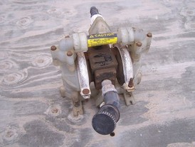 Used Sandpiper Diaphragm Pump. 1 in. Model: PB1-A. Type: TN-1-PP