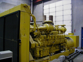 Cat 1.3 Megawatt Generator. Model SR-4. Driven by 3516 Cat Engine.