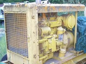 30 KW Cat Diesel Generator. 480/240-208/120 Volt. Mounted on Tandem Axle Chassis.