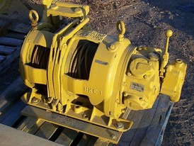 Used Gardner Denver (Slusher) Hoist. Model: HKE. Double Drum - Air Operated.