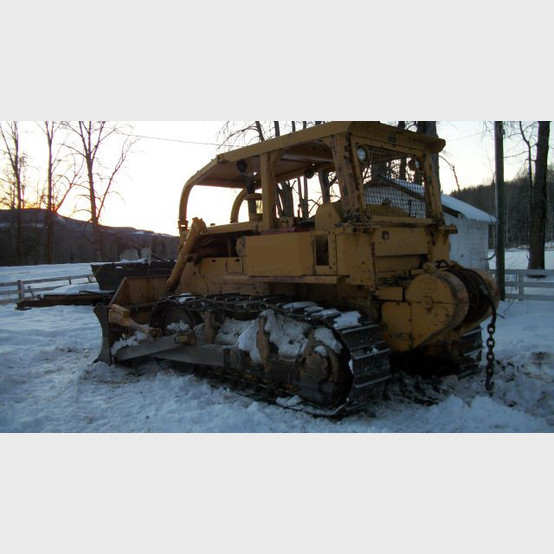 Used Cat Dozer  Model: D7F with Angle Blade, Winch, ROPS Canopy