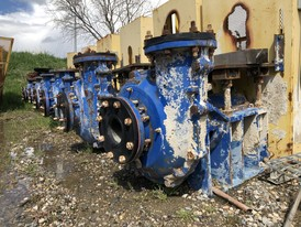 ASH Horizontal 6 x 6 Slurry Pumps