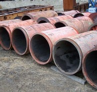 Used Electric Ventilation Fans -  38 in. dia. Silencers.