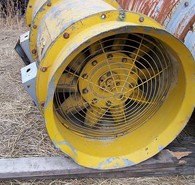 Used Trimetal Electric Ventilation Fans. 24 in. dia., 20hp, 230/460 volt, 3450 rpm.