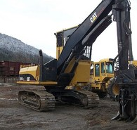 Used Cat Excavator - Log Loader. Model: 320C. New Rails.