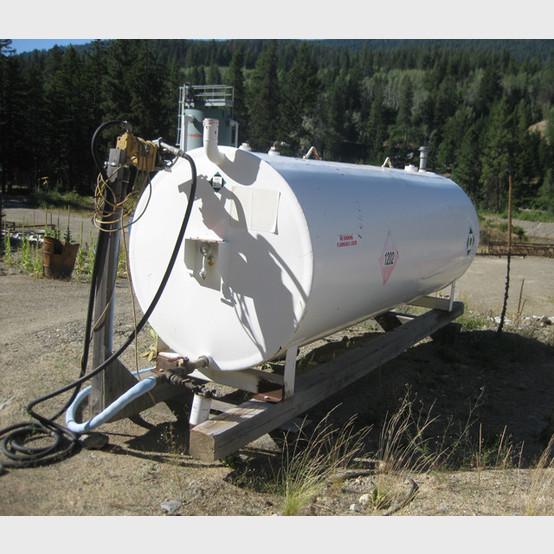 1000 Gallon Enviro Double Walled Fuel Tank