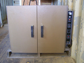 Two Door Drying Oven. 2000 Watt Single Phase - 230 Volt.