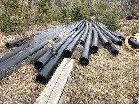 HDPE Sclairpipe 8in. Poly Pipe