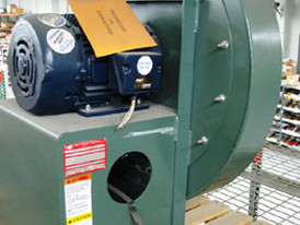 6 New surplus, New York Blowers Model 2406. Comes with direct drive 10hp, 3500 rpm electric motor.