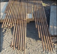 7/8 in. Hex Drill Steel. Various Lengths.