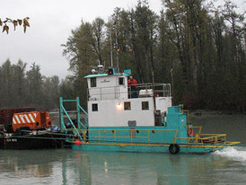 1982 - 44 foot tug boat. Twin GM 8V-71 rated @ 304 BHP engines. Contact our office for additional information.