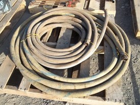 1 in. Air Hose c/w Fittings. 2 Rolls.