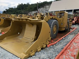 Caterpillar R1600G Scooptram Package