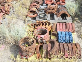 Used Pipe Fittings. 12 in. to 16 in. Grooved Fittings.