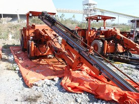 Sandvik Single Boom Jumbo Drill Package