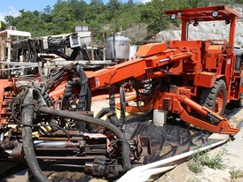 Sandvik Two Boom Jumbo Drill Package