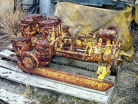 Gardner Denver Piston Pump