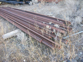 120 feet new surplus 40lb rail. Comes in 20 foot lengths.