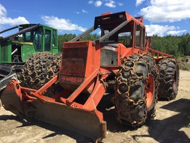 Timberjack 450A Cable Skidder