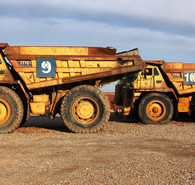 Cat 777C Rock Trucks