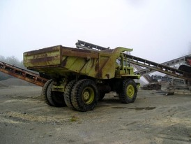 Used Euclid Rock Truck. 25 Ton Capacity.