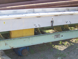 Used Griffin & Co. Vibrating-Dewatering Screen. 4 ft. x 12 ft. 3 HP Motor.