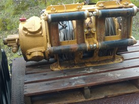 Ingersoll-Rand Double Drum Air Slusher Hoist
