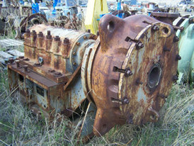Used Thomas Simplicity Slurry Pump. 4 in. x 3 in. Dredge Style. Model: CDS18. Comes with Metal Impeller.