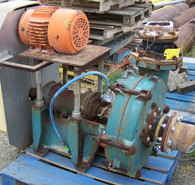 Used Allis-Chalmers Slurry Pumps. 5 in. x 5 in.
