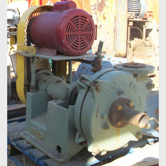 Used Denver Srl Slurry Pump 1 5 In X In Supplied