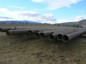 12 in. Grooved Steel Pipe for Sale