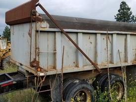 Pup Gravel Dump Trailer