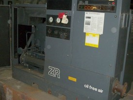 Used Atlas Copco Air Compressor. 400 CFM - 100 HP. Oil Free.