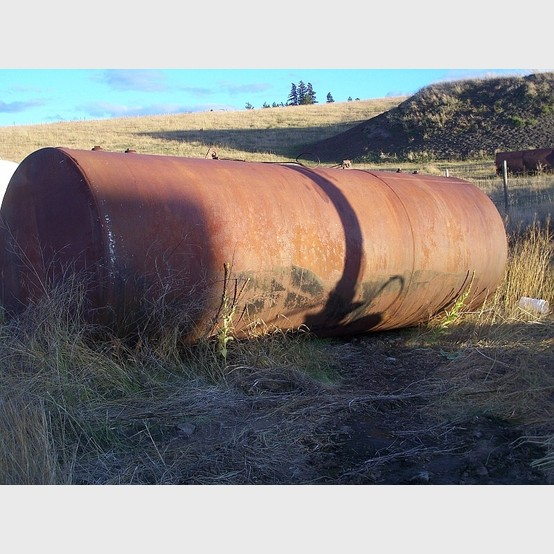 6 000 Gallon Steel Water Tank For Sale By Savona Equipment